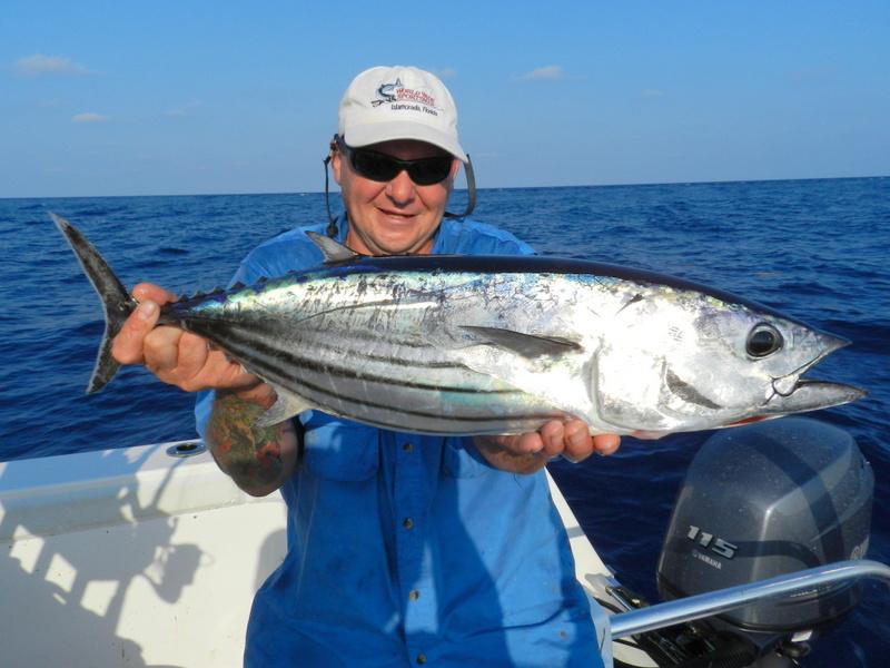 Tuna time fish the dream florida fishing holidays for Tuna fishing florida