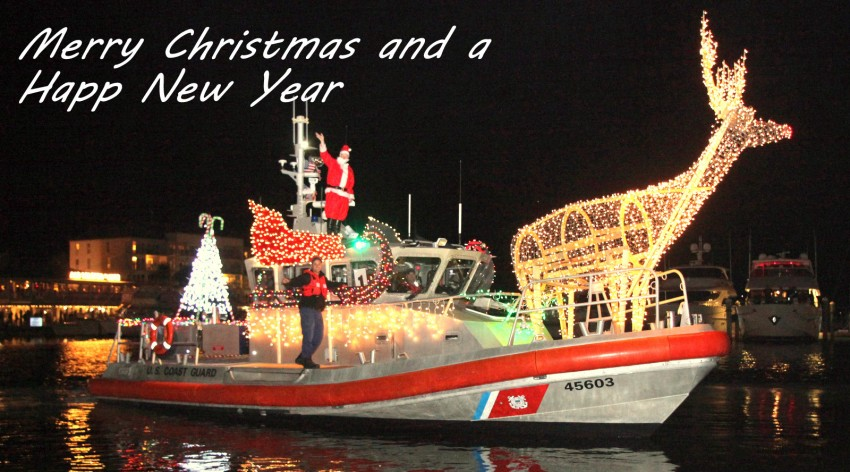 Schooner Wharf Lighted Boat Parade 2014